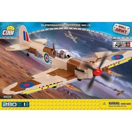 COBI Small Army Samoloty II Supermarine Spitfire MK IX 280 kl. (5525)