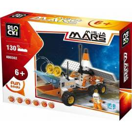 Klocki Blocki Misja Mars Łazik Marsjański 130 kl. (KB0302)