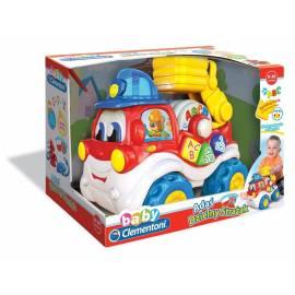 Adaś dzielny strażak PL/EN, zabawka interaktywna Clementoni