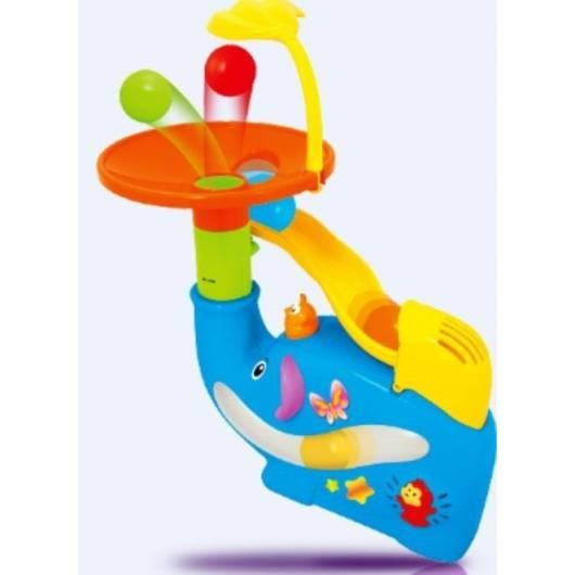 Słonik fontanna z piłeczkami, zabawka interaktywna DUMEL