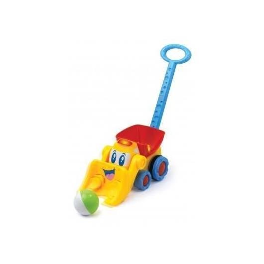 Pchacz buldożer, zabawka interaktywna DUMEL