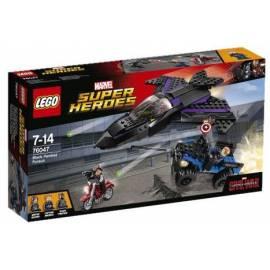 Lego SUPER HEROES 76047 Pościg za Czarną Panterą