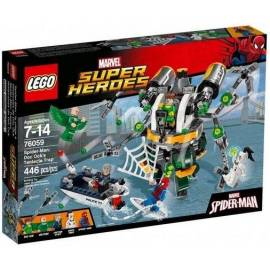 Lego SUPER HEROES 76059 SpiderMan: Pułapka...