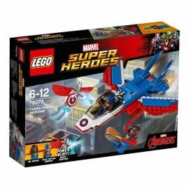 Lego SUPER HEROES 76076 Odrzutowiec Kapitana