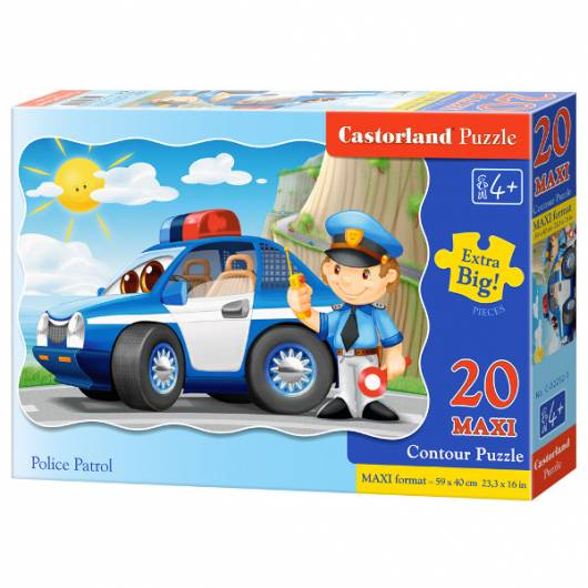 CASTOR 20 EL. MAXI Patrol policyjny