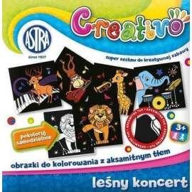 Creativo - Leśny koncert obrazki do kolor. ASTRA