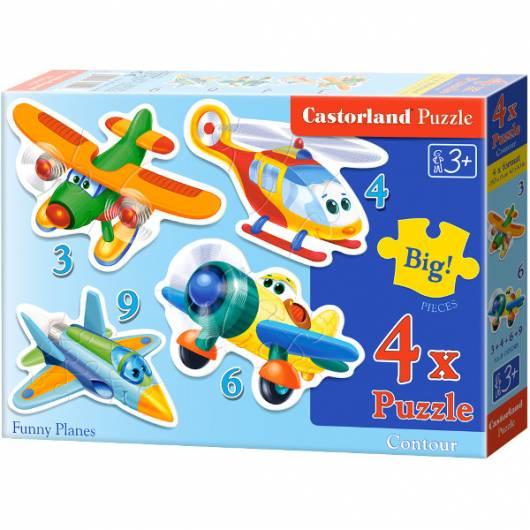 CASTOR 22 EL. 3+4+6+9 Samoloty