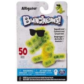 Bunchems Kolorowe Rzepy - Kumple Aligator