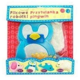 Filcowe Robótki - Przytulanka Pingwin STnux