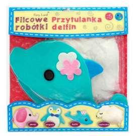 Filcowe Robótki - Przytulanka Delfin STnux