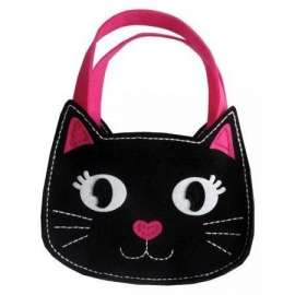 Filcowe Robótki - torebka mała kot
