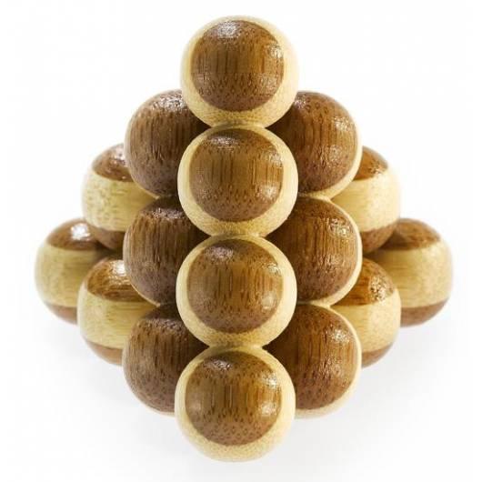 Łamigłówka 3D BAMBOO - Cannon Balls - poziom 1/4