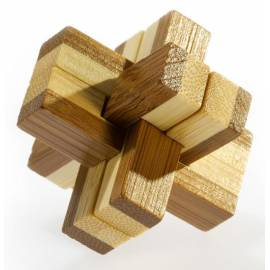 Łamigłówka 3D BAMBOO - Knotty - poziom 3/4