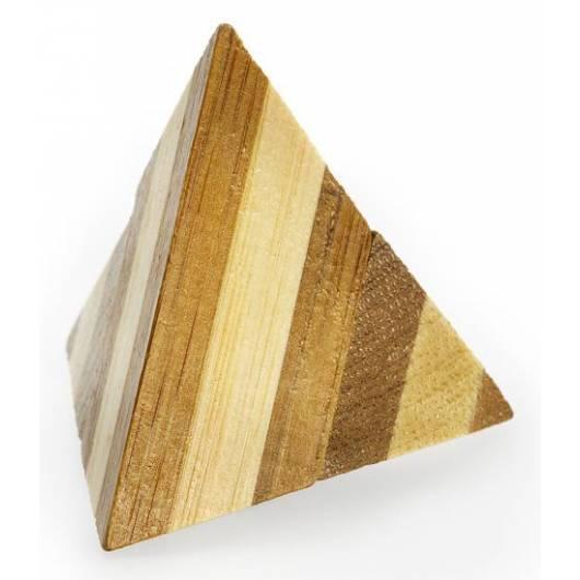 Łamigłówka 3D BAMBOO - Pyramid - poziom 1/4