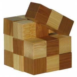 Łamigłówka 3D BAMBOO - Snake Cubes - poziom 2/4