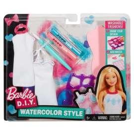 Barbie D.I.Y. Zrób to sama - Akwarelowe wzory