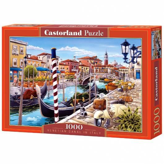 CASTOR 1000 EL. Venetian Canal in Italy