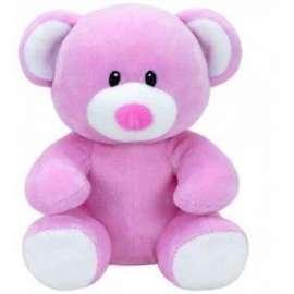 Baby Ty Princess - Różowy Miś 15cm