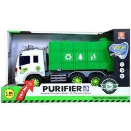 Auto ciężarowe śmieciarka