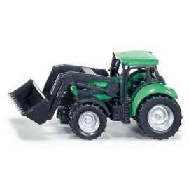 Siku 10 - Traktor ze spycharką S1043