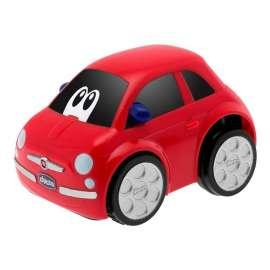 Auto Fiat 500 Turbo Touch czerwone
