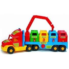 Super truck śmieciarka