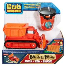 BOB Spychacz Muck i kinetyczny piasek