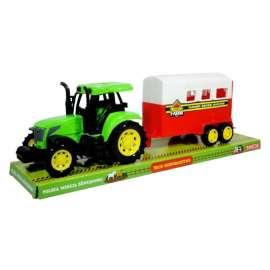 Moje gospodarstwo - Traktor z zamkniętą przyczepą