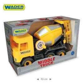 Middle truck - Wywrotka żółta WADER