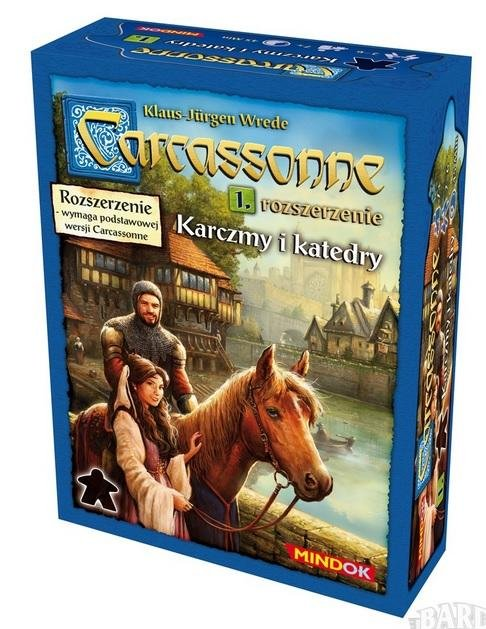 Carcassonne 1 - Karczmy i katedry Edycja 2