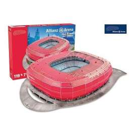 Model Stadionu Allianz Arena (Bayern Munchen)