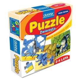 Moje pierwsze gry - Puzzle. Zwierzęta GRANNA