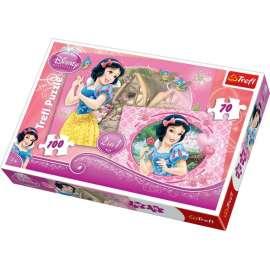 Puzzle 2w1 Księżniczki W oczekiwaniu na księcia