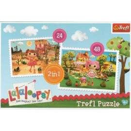 Puzzle 2w1 Lalaloopsy TREFL