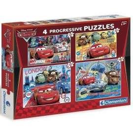 Puzzle 20+60+100+180 Auta