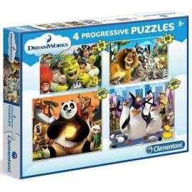 Puzzle 20+60+100+180 DreamWorks