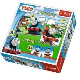 Puzzle 2w1+ memos - Tomek i przyjaciele TREFL