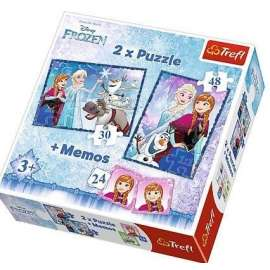 Puzzle 2w1+ memos - Siostry TREFL