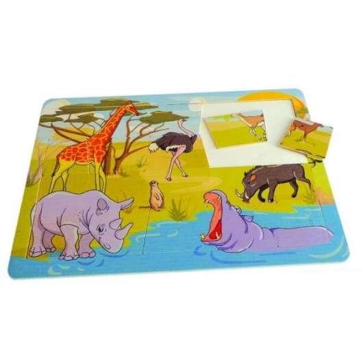 Puzzle safari - 20 elementów