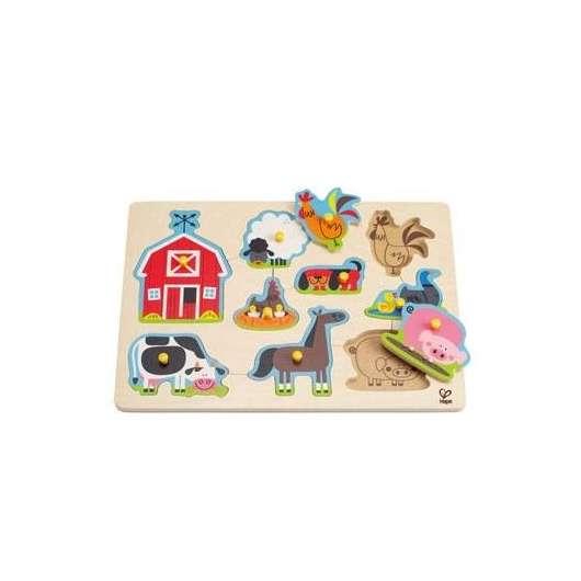 Puzzle Farma zwierząt domowych