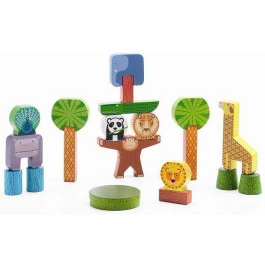 Zabawka wczesnorozwojowa - Stacky Jungle