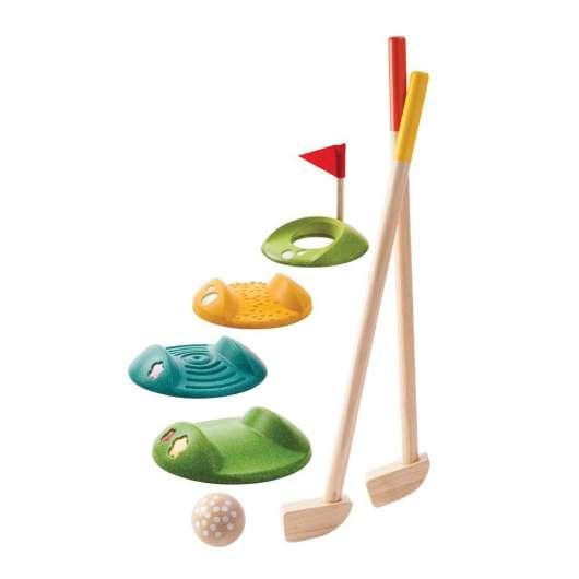 Drewniany mini golf - duży