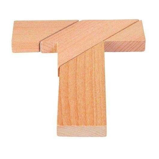 Układanka logiczna litera T