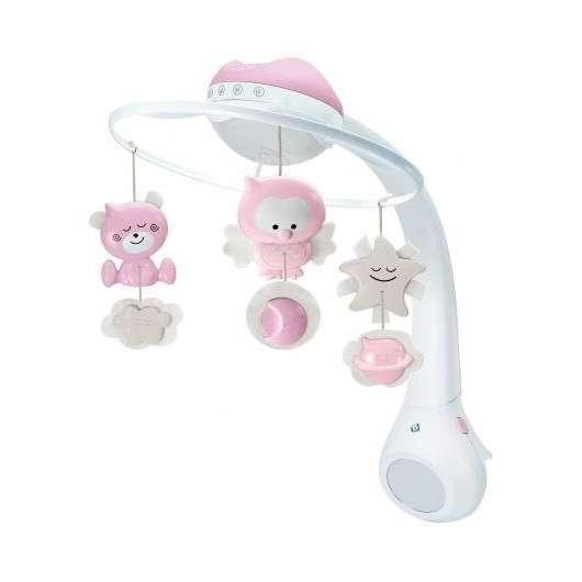 Projektor Muzyczna Karuzelka różowa