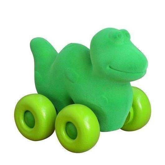 Pojazd - dinozaur zielony