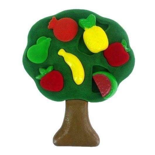 Sorter 3D kształty owoce