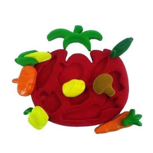 Sorter 3D kształty warzywa