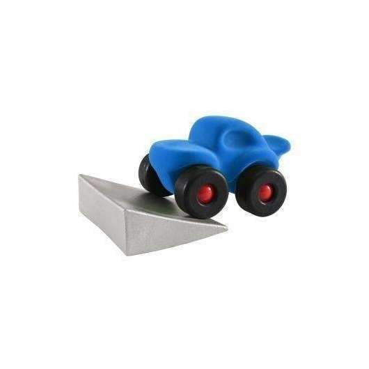 Monster car z podjazdem niebieski