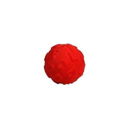 Piłka alfabet duże literki czerwona