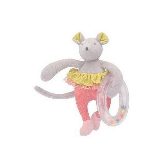 Grzechotka z Myszką Mademoiselle et Ribambelle